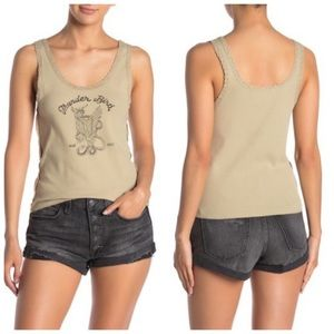 Free People Trading Post Tank Top size L